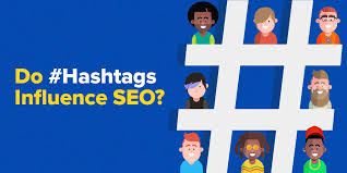 Image result for using hashtags for seo